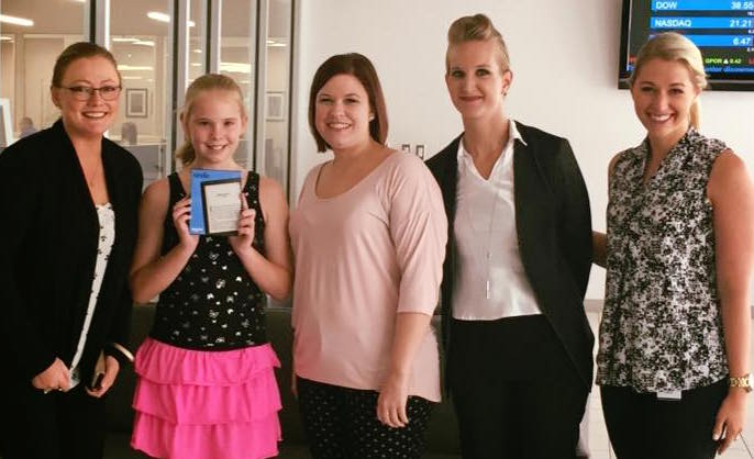 Summer Newspaper Contest Winner Julianne R. of Oklahoma City.