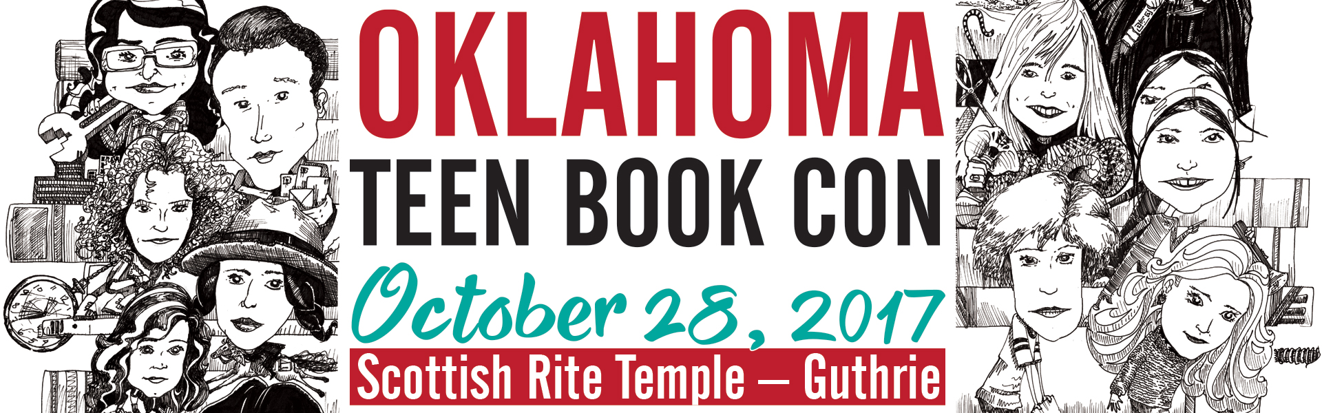 Oklahoma Teen Book Con Graphic
