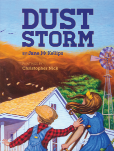Cover of children's book, Dust Storm